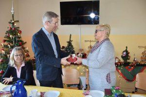 Weihnachtsfeier im Obdachlosenhaus mit dem Oberbürgermeister