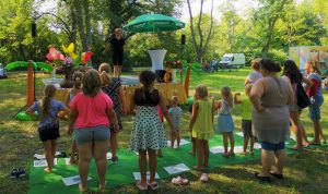 Volkssolidarität: Kinderfest im Stadtpark Anklam