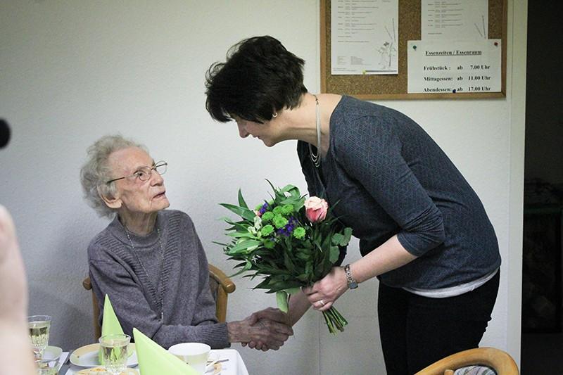100 Jahre: Eine Anklamerin feierte gestern einen ganz besonderen Geburtstag