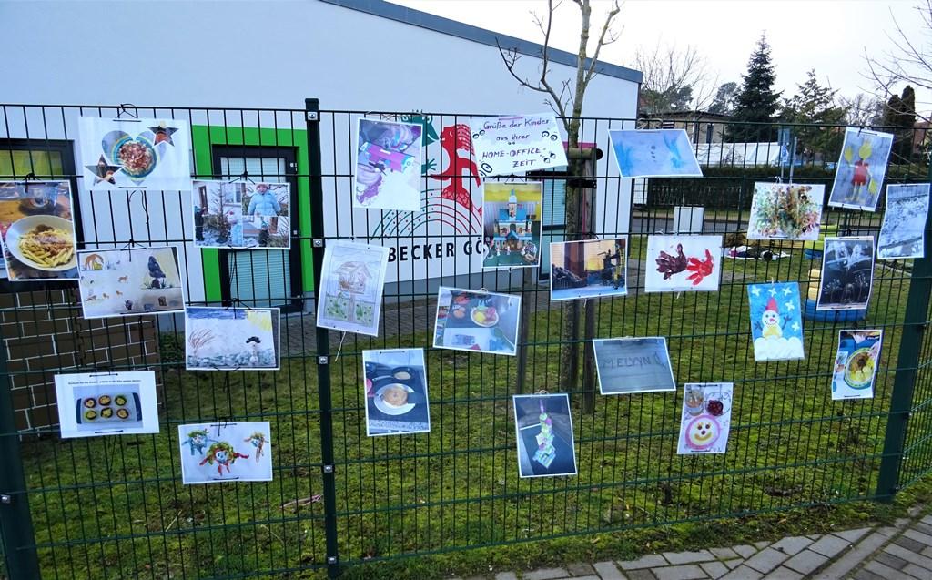 """Unsere Ahlbecker Kids im """"Home-Office"""""""