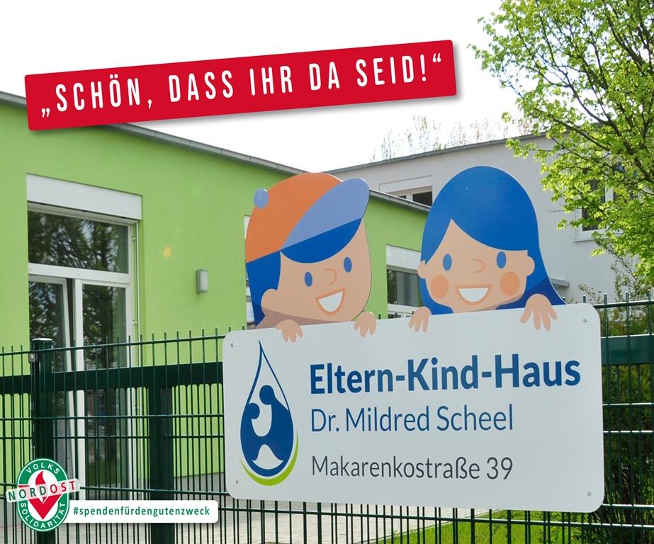 Wir spenden für das Eltern-Kind-Haus in Greifswald