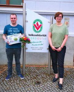 """Read more about the article Herzlichen Glückwunsch zur bestandenen Ausbildung an unseren """"Ex-Azubi"""""""