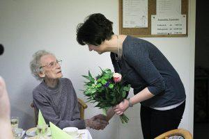 08.01. Gratulation zum 100. Geburtstag